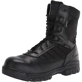 """Bates Men's 8"""" Ultralite Tactical Sport Dryguard Wp Side Zip Composite Toe Industrial Shoe"""