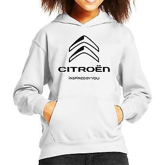 Citroen 2016 Svart logotyp inspirerad av din barns huvtröja