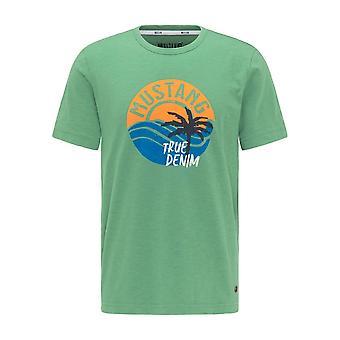 Mustang Skor Alex 10095346398 universell hela året män t-shirt