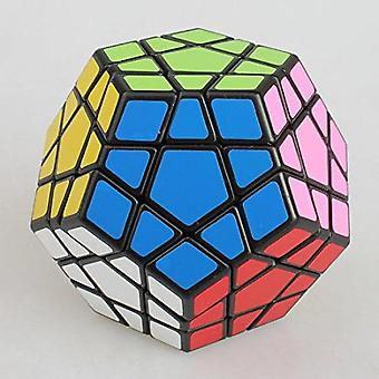 Megaminx Stickerless Speed Cube Pentagonal Dodecahedron Cube Puzzle