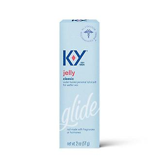 K-Y Personal Water Based Lubricant Jelly, 2 oz
