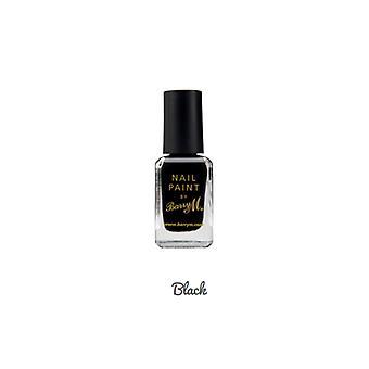 בארי M # בארי M צבע ציפורניים שחור #DISCON
