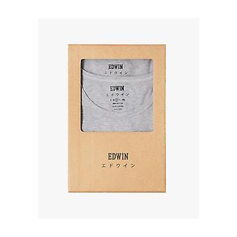 Edwin Jeans Dubbelpaket Tee - Grå Ljung
