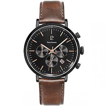 Miesten kello Pierre Lannier kellot BARON 222G434 - Ruskea nahkahihna