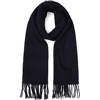 Foulard en cachemire frangé de couleur pure pour garder au chaud et châle long