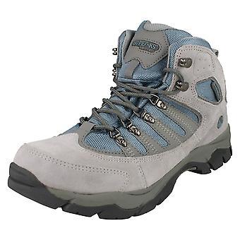 Ladies 50 Peaks By Hi-Tec Lace Up Walking Boots Mckinley