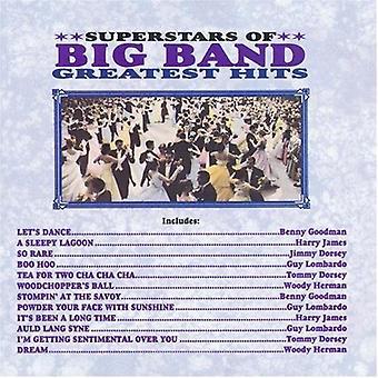 Supersterren van bigband-Grea - supersterren van bigband-telt [CD] USA importeren