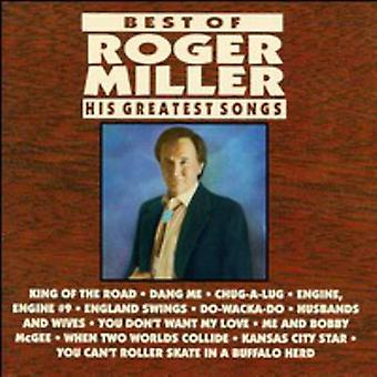 Roger Miller - Best of-His Greatest Songs [CD] USA import