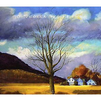 John Gorka - So Dark You See [CD] USA import