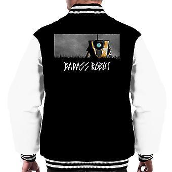 Badass Robot Borderlands Men's Varsity Jacket