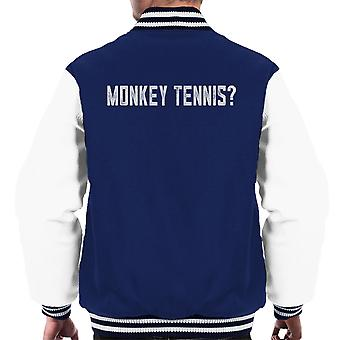 Alan Partridge Monkey Tennis Men's Varsity Jacket
