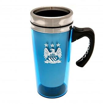 Manchester City Handled Travel Mug