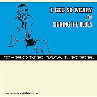 T-Bone Walker - ich bekomme So müde / singt den Blues + 4 Bonus Tracks [CD] USA import