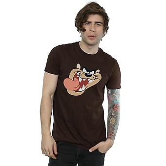 Looney Tunes mannen Tasmaanse duivel gezicht T-Shirt