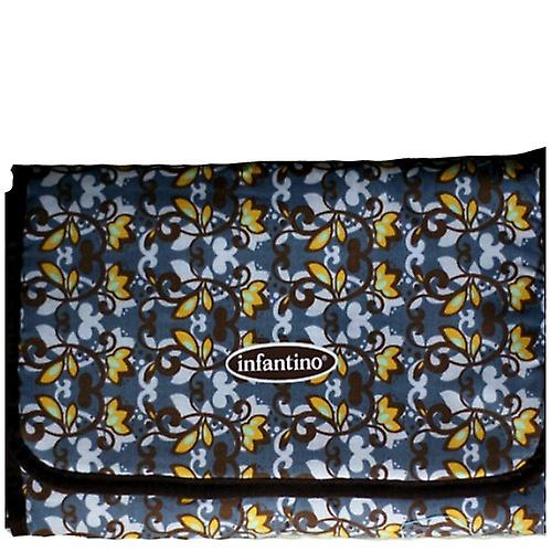 Infantino Baby Changing Mat Brown Floral
