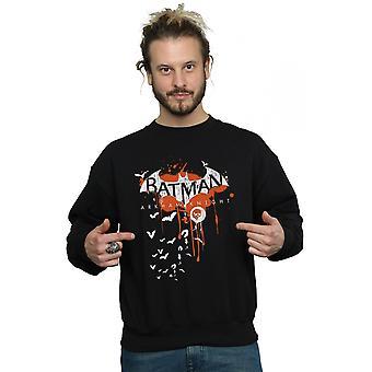 DC Comics mannen Batman Arkham Knight Halloween Logo kunst Sweatshirt