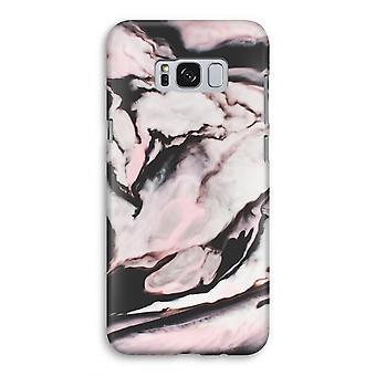 Samsung Galaxy S8 volledige Print geval (Glossy) - roze stream