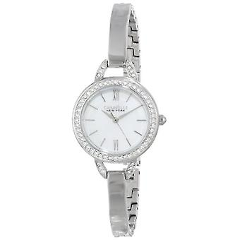 Caravelle 43L166 Stainless Swarovski Crystal Accented