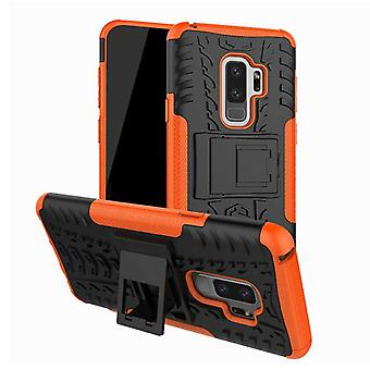 Hybrid case 2 piece SWL outdoor Orange for Samsung Galaxy S9 plus G965F bag cover