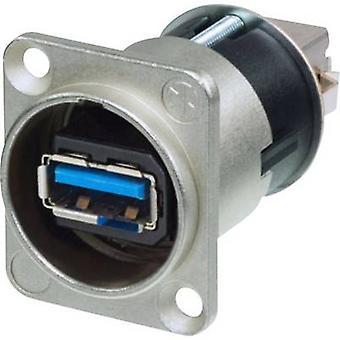 Reversible USB-Verlegung 3.0 Sockel, eingebaute Verlegung Neutrik Inhalt: 1 Stück(s)