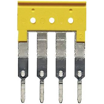 Weidmüller 1608880000-1 ZQV 2.5/4 Tväranslutning Kompatibel med (detaljer): PDU 2.5/4 /3/4AN/ZIA