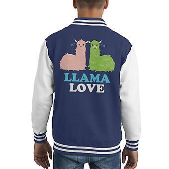 Lama Liebe Kid Varsity Jacket