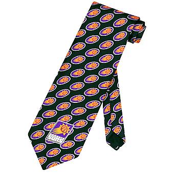 PHOENIX SUNS SILK NeckTie NBA Men's Logo Pattern Neck Tie
