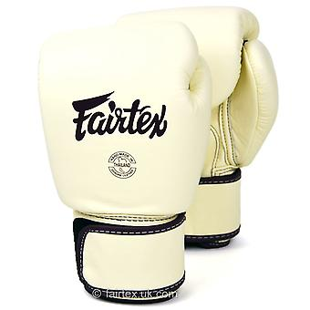 Fairtex BGV16 skinn boksehansker Khaki