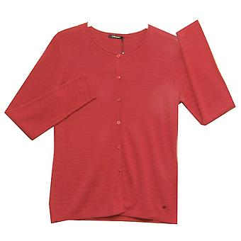 OLSEN Cardigan 11002563 Berry Red
