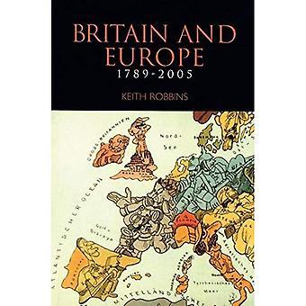 Brittiska öarna och Europa 1789-1991 papper (Storbritannien och Europa)