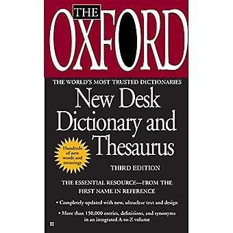 L'Oxford nuovo Desk dizionario e Thesaurus