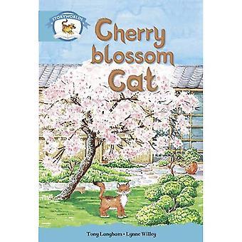 L'alphabétisation Edition Storyworlds Etape 9, monde Animal, chat de fleur de cerisier