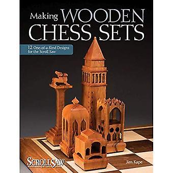 Faire des jeux d'échecs en bois