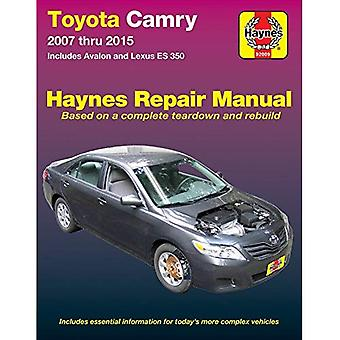 Toyota Camry & Avalon & Lexus Es 350, 2007-2015: Does Not Include Information Specific to Hybrid Models
