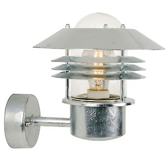 Vejers Up  -  Galvanised Up Facing Outdoor Wall Light - Nordlux 25091031