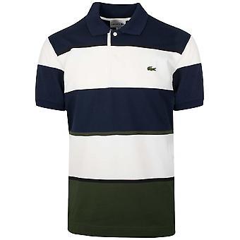 Camisa Polo Lacoste Navy Block