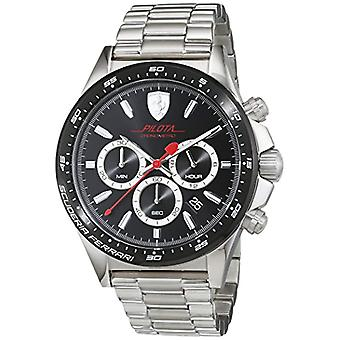 Men's watch with stainless steel band, Scuderia Ferrari 0830393