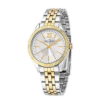 Chronostar Luxury-quartz with analog Display, multi colored multicolored strap and stainless steel R3753240505