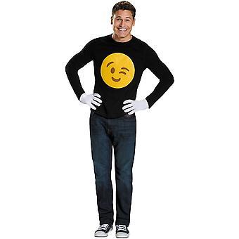 Emoji blinkning vuxen Kit