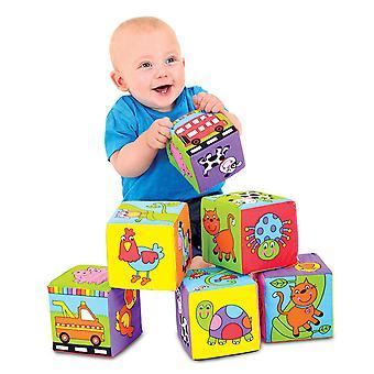 Blocchi di Galt giocattoli bambino morbido
