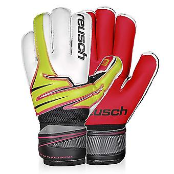 Reusch Argos SG Elite Special Goalkeeper Goalie Glove White/Black/Green