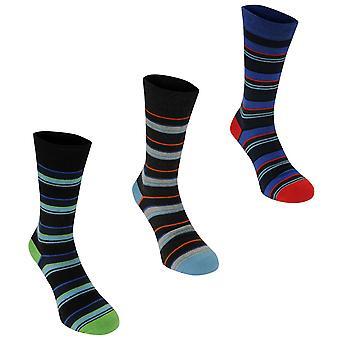 Kangol Mens Formal Sock 3 Pack