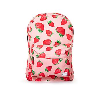 Sac à dos spirale fraise