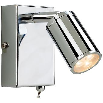 Firstlight-LED 3 licht indoor muur Spotlight (geschakeld) chroom-3453CH