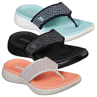 Skechers Womens 2019 On The Go 600 Glossy Sandals