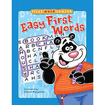 First Word Search - Easy First Words by Steve Harpster - 9781402778087