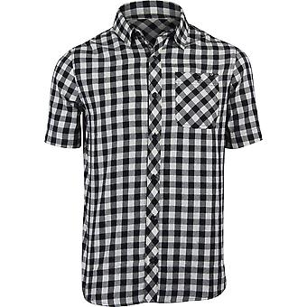 Fox Racing Mens Troubled Mind SS Casual Button Shirt - Bone White