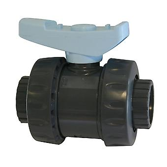 Evolution Aqua Double Union Ball Valve 2inch