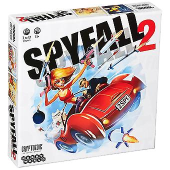 Spyfall 2 Game 12 Players Board Game