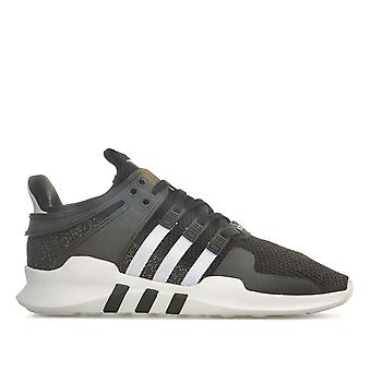Womens adidas Originals Eqt Support Adv Trainers In Core Black / Footwear White